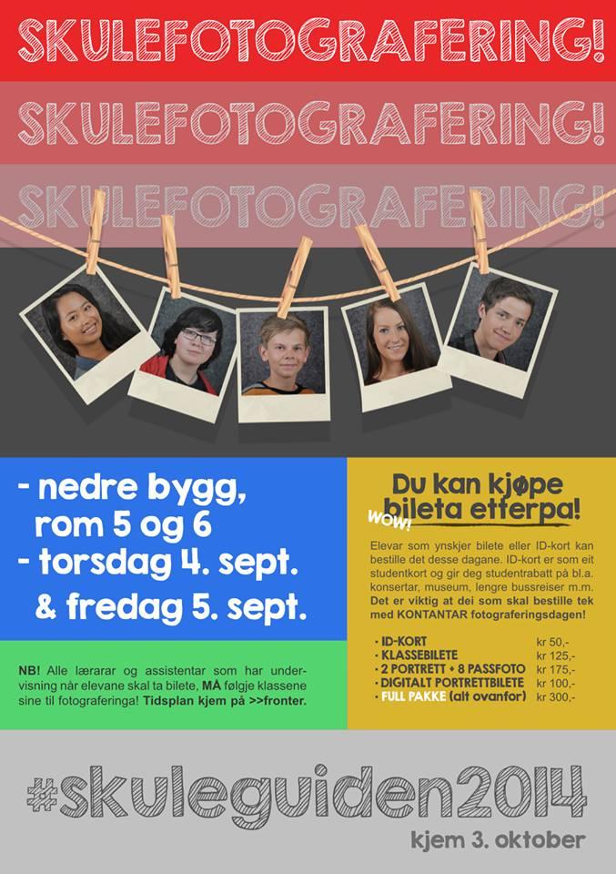 Plakat Skulefotografering - Sigurd