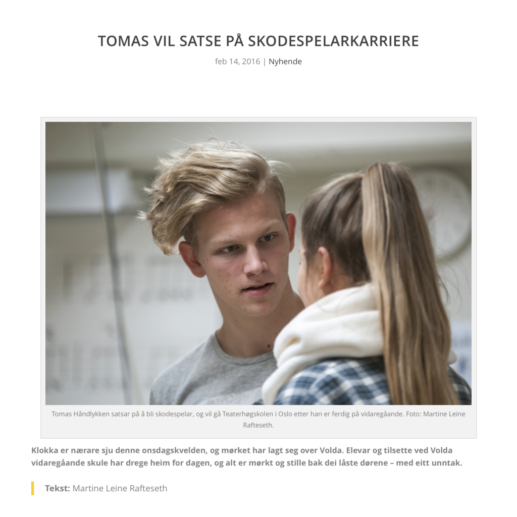 Tomas-vil-satse-paa-skodespelarkarriere-Martine